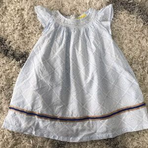 Roller Rabbit smocked sun dress size 2